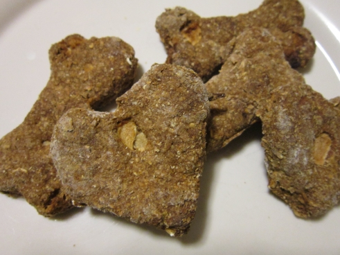 honey apple molasses dog treats