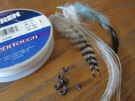 feather extension supplies