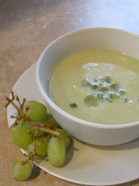 White Grape Gazpacho