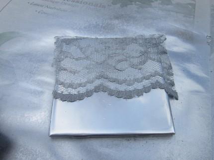 Tile Sprayed Silver