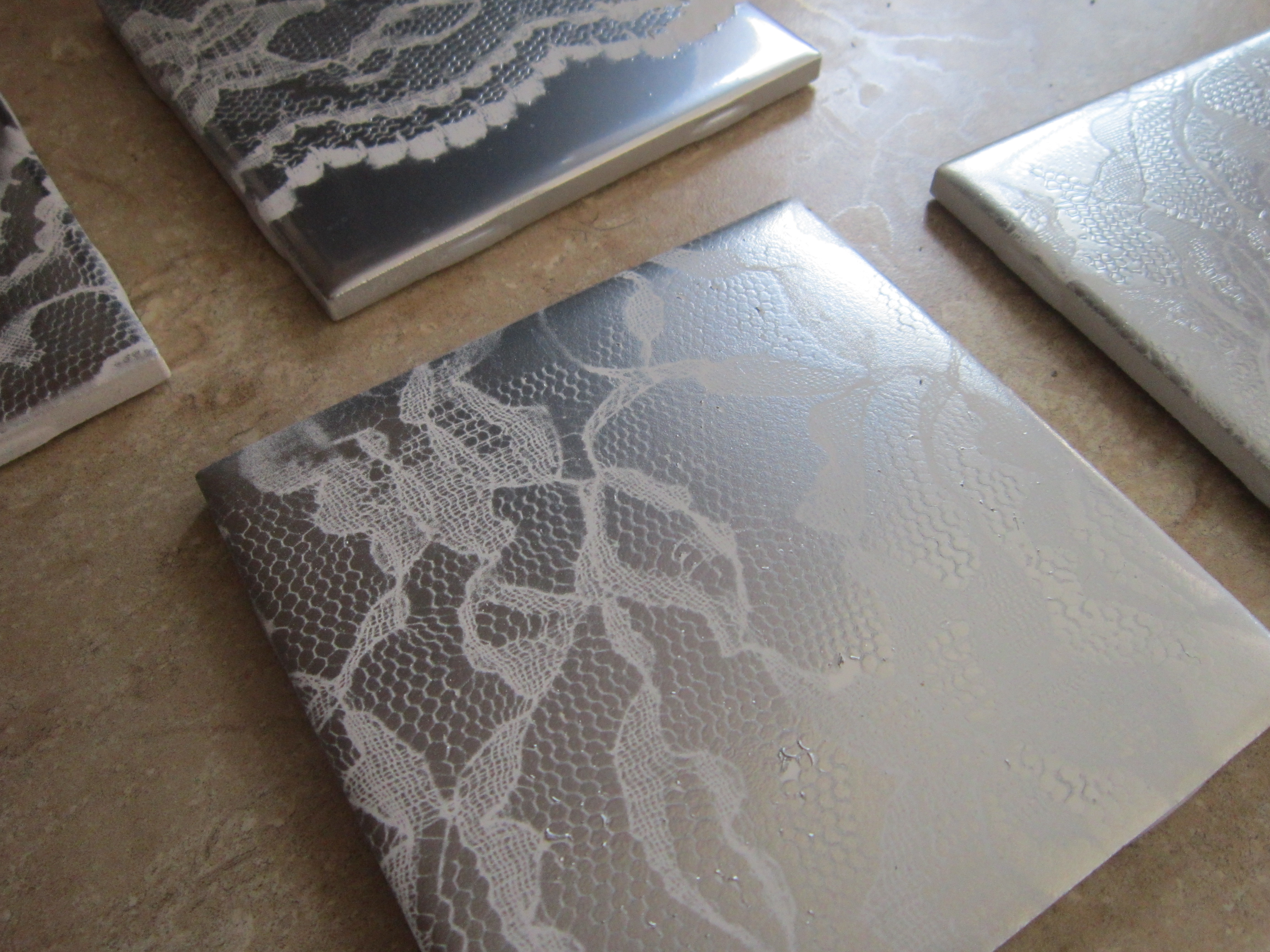 Diy lace tiles several lace tiles dailygadgetfo Image collections