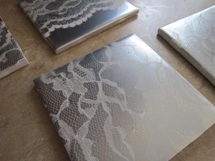 Several Lace Tiles