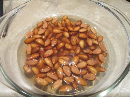 Almonds Soaking