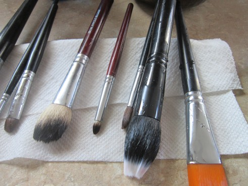 Drying Brushes