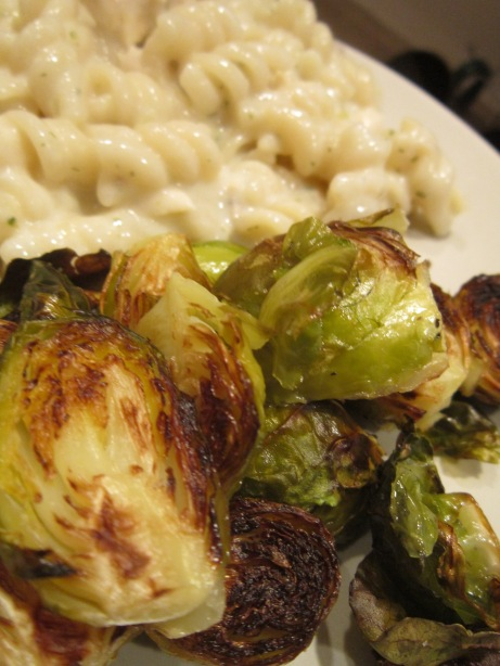 Yummy Roasted Brussel Sprouts