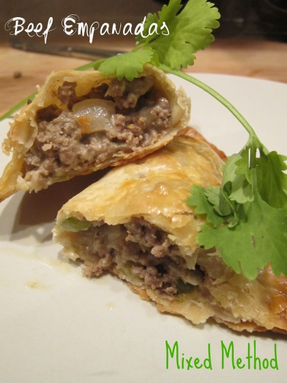 Baked Beef Empanadas from Mixed Method