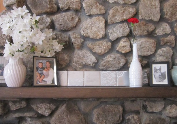 Lace Tiles on Mantle 2