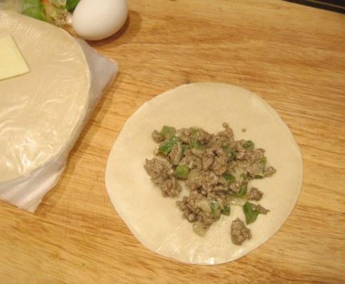 Filling the Empanadas