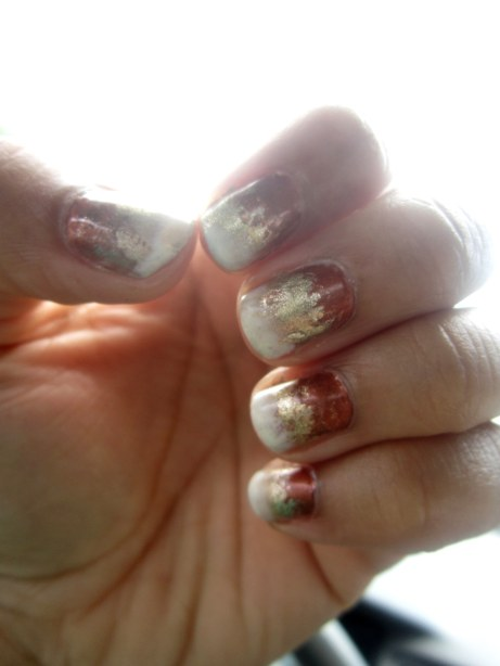 Ombre Gradient Manicure