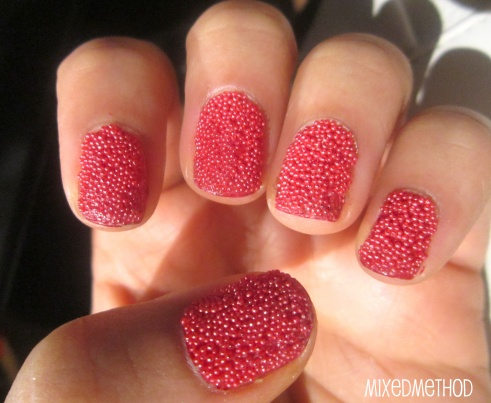 Caviar Manicure by MixedMethod
