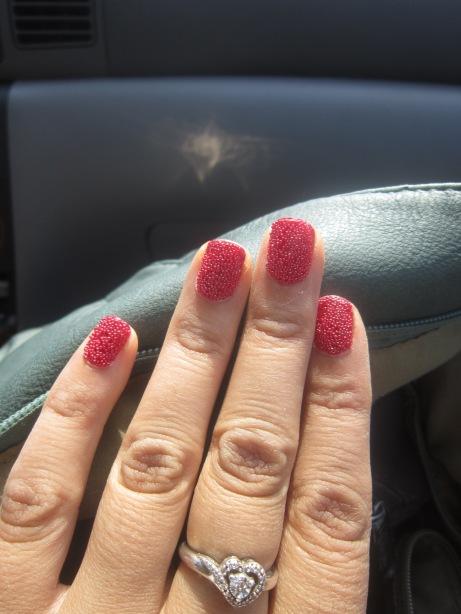 Red Caviar Mani