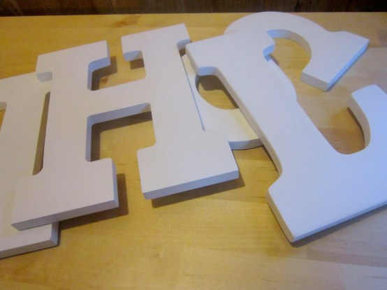 Wood Block Letters