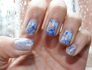 Paint Splatter Mani