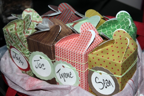 DIY Cookie Gift Boxes