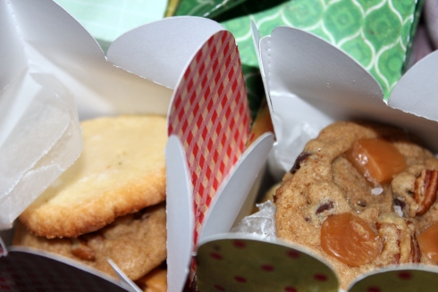 Homemade Cookies in Gift Boxes