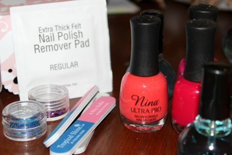 Manicure Kit Supplies