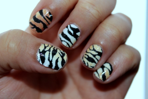 Tiger Chic Prints Mani