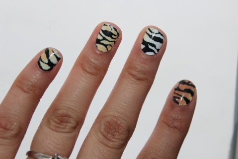 Sephora by OPI Tiger Chic Prints Mani