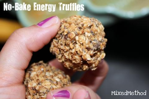 No-Bake Energy Truffles by MixedMethod
