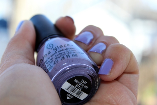 China Glaze Avant Garden Tart-y for the Party