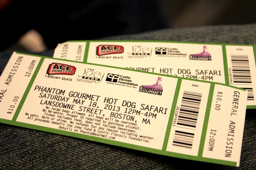 Hot Dog Safari Tickets