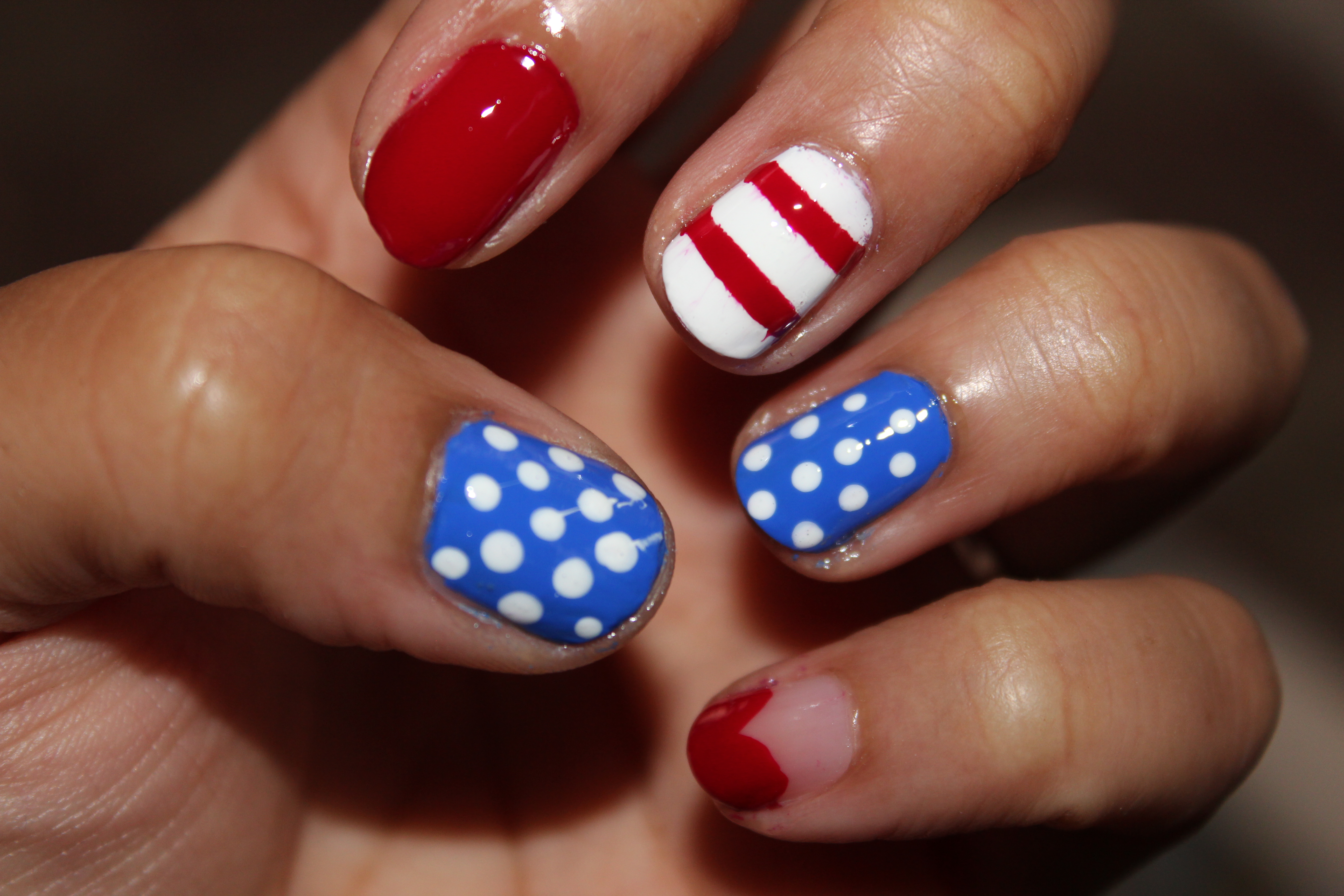 Orly 4th of july nail art solutioingenieria Images