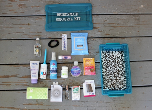 Bridesmaid Survival Kit Essentials