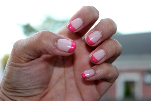Pink French Tips