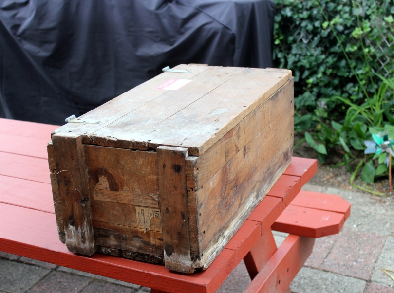 Salvaged Wooden Toolbox