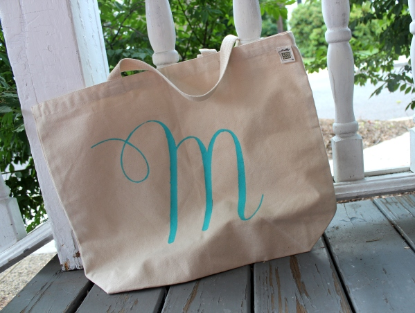M Tote Bag