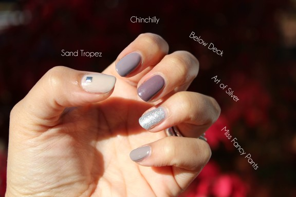 Ombre Mani Colors