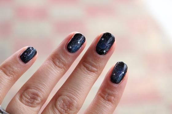 Celestial Galaxy Nails