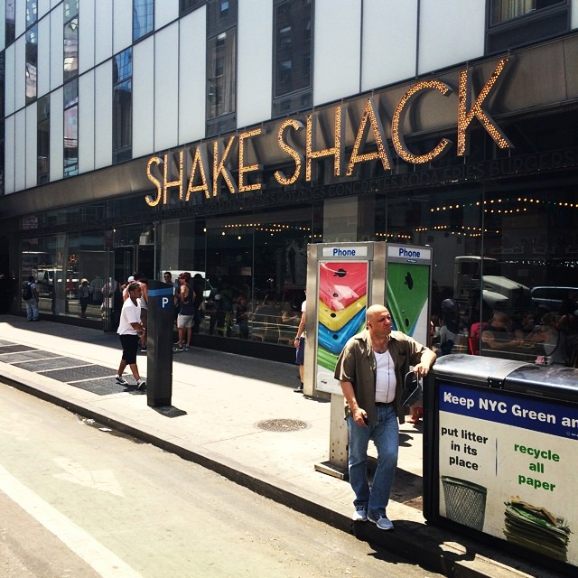 Shake Shack 8th Ave NYC