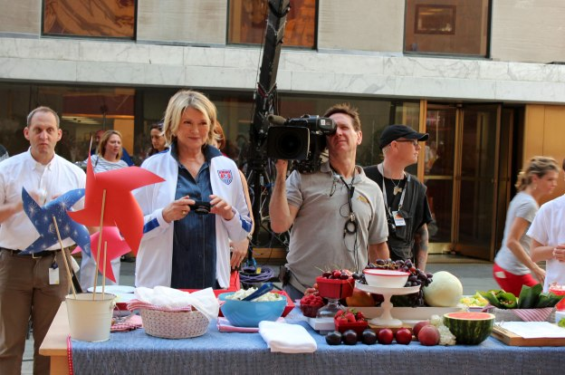 Martha Stewart at Today Show