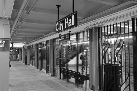 City Hall Subway Station NYC