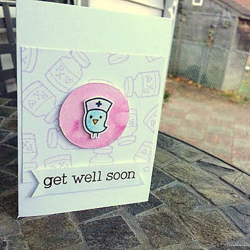 Get Well Soon Handmade Card