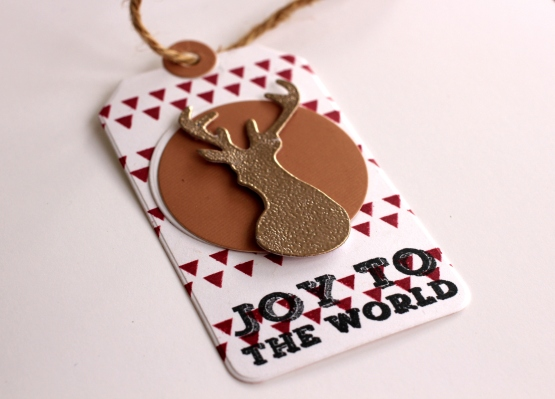 Joy To The World Gift Tag