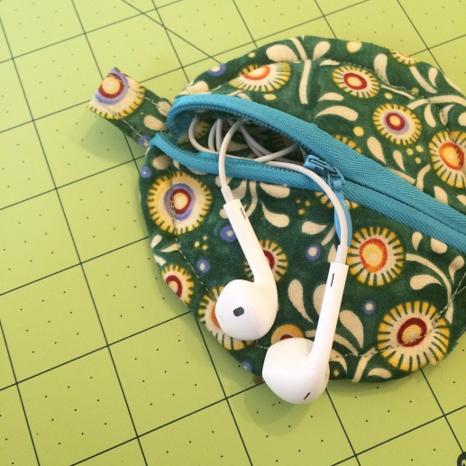Zip Pouch for Headphones