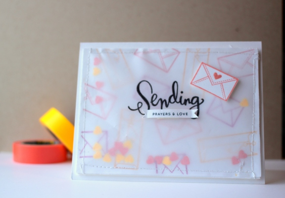 Sending Happy Thoughts Sympathy Card