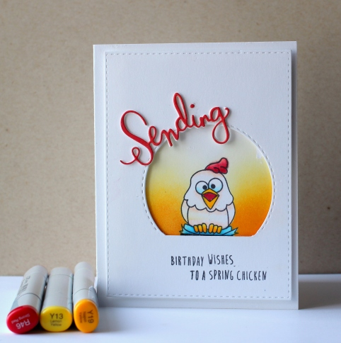 Sending Birthday Wishes Card