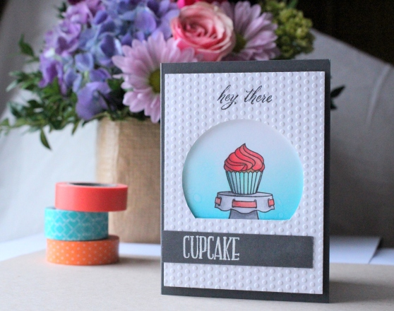Hey There Cupcake Card
