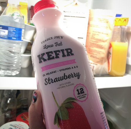 Strawberry Kefir