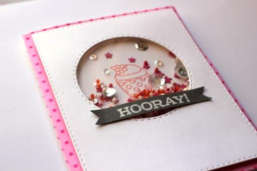 Cupcake Birthday Shaker Card
